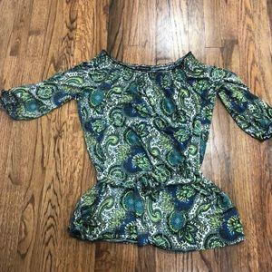 Inc paisley print tunic